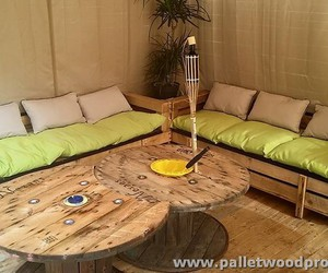 pallet sofa, pallet patio sofa, and pallet sofa ideas image
