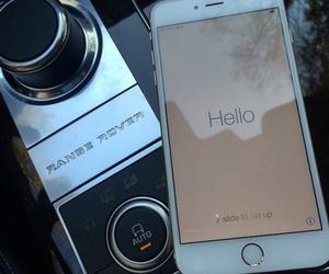 iphone, luxury, and range rover image