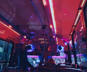 bus, color, and photographer image