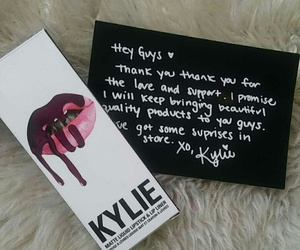makeup, kyliejenner, and kingkylie image