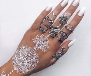 fashion, boho, and hand image