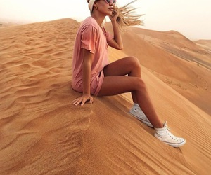 desert, flawless, and hair image