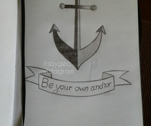 anchor, art, and art work image