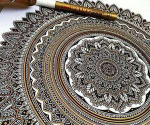 art, mandala, and amazing image
