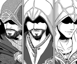assasins creed and assasin image