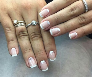 fashion, french, and manicure image