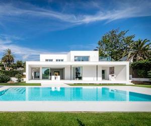 architecture, contemporary, and dream home image