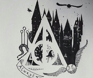 deathly hallows and hp image