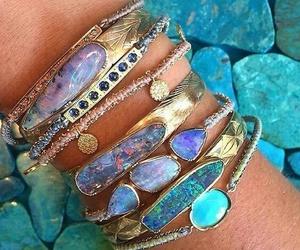 bracelet, jewelry, and boho image