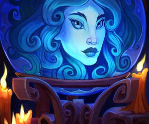disney, haunted mansion, and madame leota image