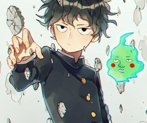 mob psycho 100, anime, and art image