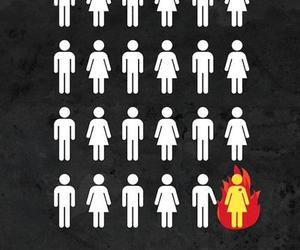 the hunger games, katniss everdeen, and girl on fire image