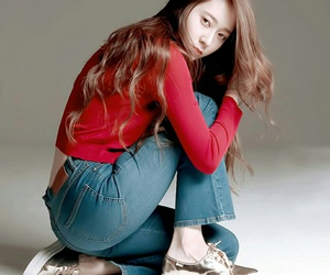 krystal, f(x), and hair image