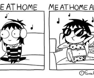 funny, sarah andersen, and true image