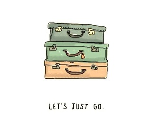 travel, go, and quotes image