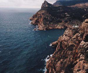 black sea, crimea, and landscape image