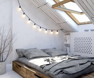 bed, inspo, and bedroom image