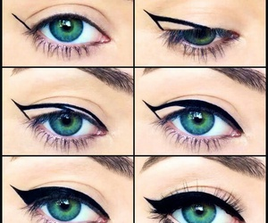 beauty, tuto, and makeup image