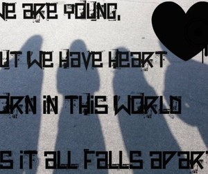 Lyrics, young, and hollywood undead image