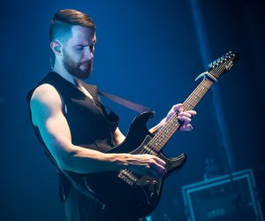 guitarist, hurts, and music image