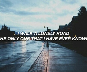green day, road, and grunge image