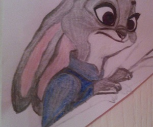 disney, my drawing, and zootopia image