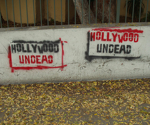 stencil and hollywood undead image