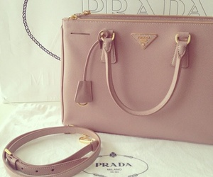 Prada, bag, and pink image