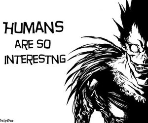 ryuk, death note, and anime image