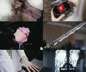 aesthetic, Collage, and once upon a time image