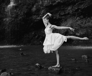 alternative, ballet, and black and white image