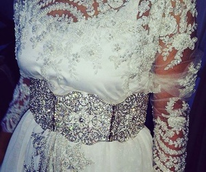 dress, mariage, and morocco image
