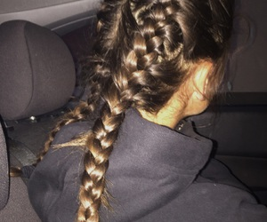 braids, cyber, and girl image