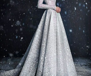 dress and snow image