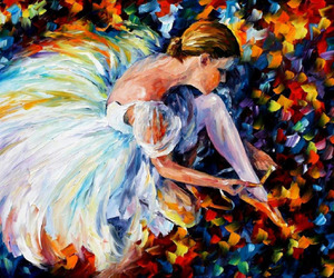art and ballerina image