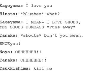 anime, nishinoya yuu, and tsukishima kei image