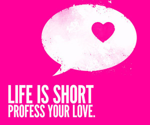 life, quote, and pink image