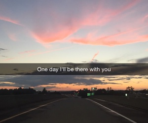 love, quote, and sky image