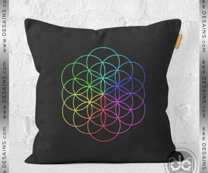 coldplay, fashion, and pillow cases image