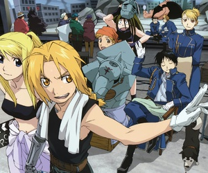 fullmetal alchemist, fma, and anime image