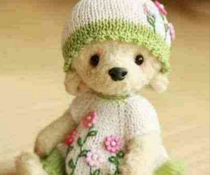 adorable, teddy, and cute image
