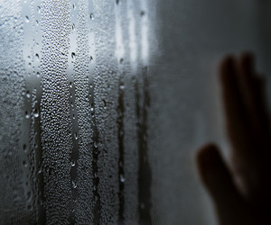 conceptual, window, and drops image