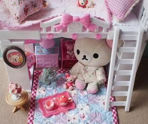 kawaii, rilakkuma, and pink image