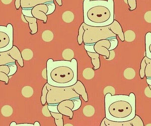 finn, adventure time, and wallpaper image