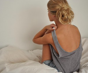 back, beautiful, and blond hair image