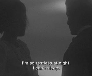 quotes, sleep, and night image