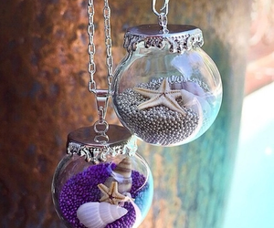 accessories, message in a bottle, and necklace image