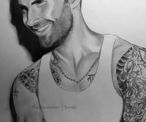 drawing, sexy, and adam levine image