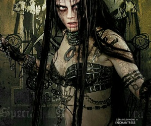 suicide squad, enchantress, and cara delevingne image