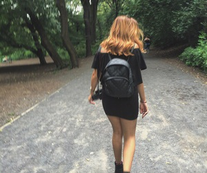 backpack, black, and Chelsea image
